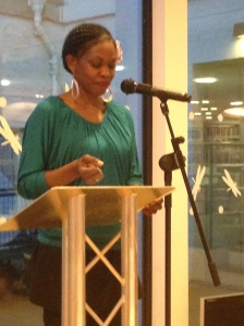 Reading from  'A Caribbean Pied Piper'